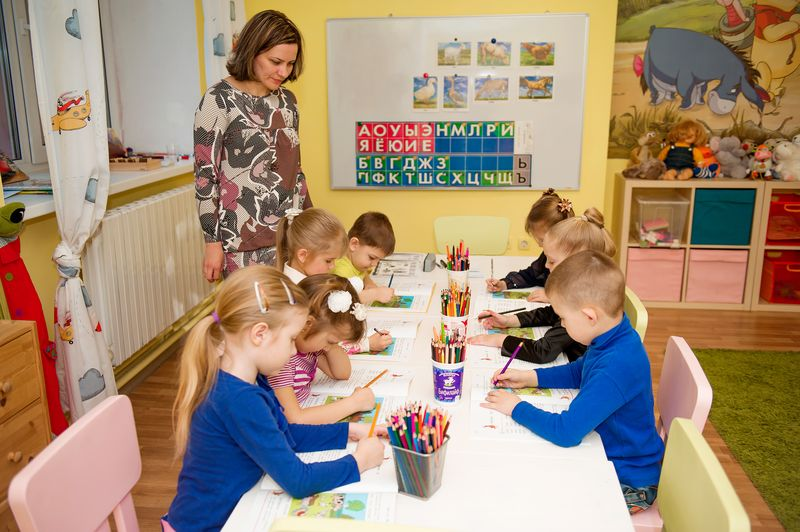 Подготовка к школе трехгорка